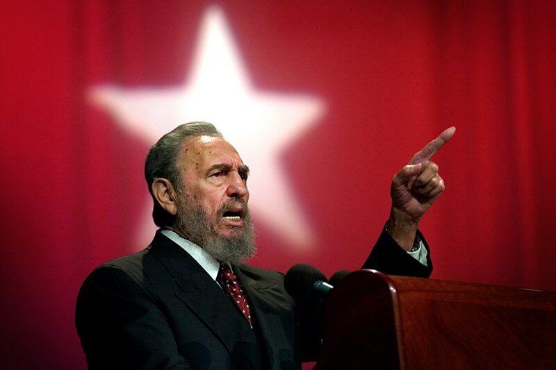 Великий оратор Фидель Кастро