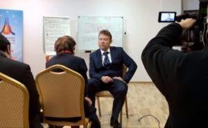"""Интервью для японской компании """"NHK"""""""